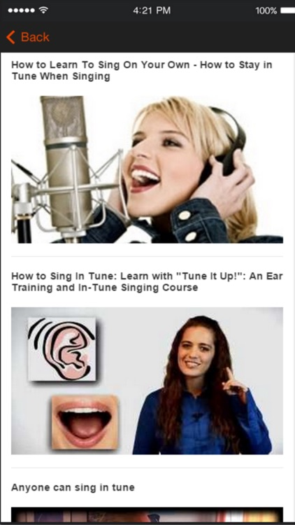 Singing Tips - Learn How To Sing Better screenshot-4