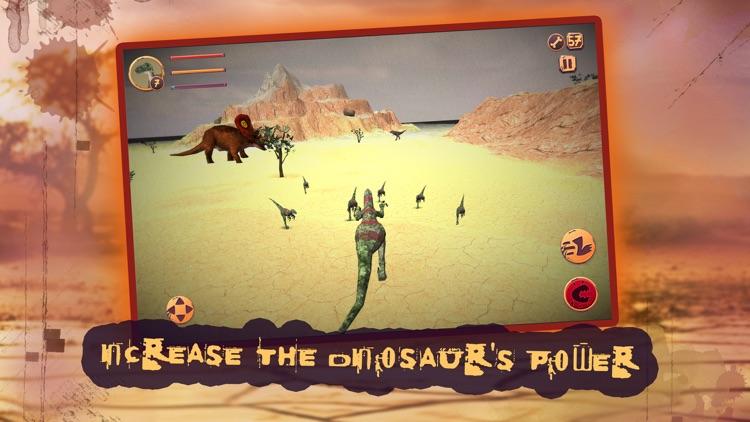 Dino Survival Evolution Battle screenshot-3