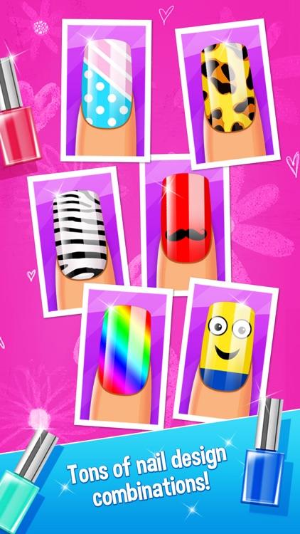 Nail Party Makeover and Nail Salon - girls game