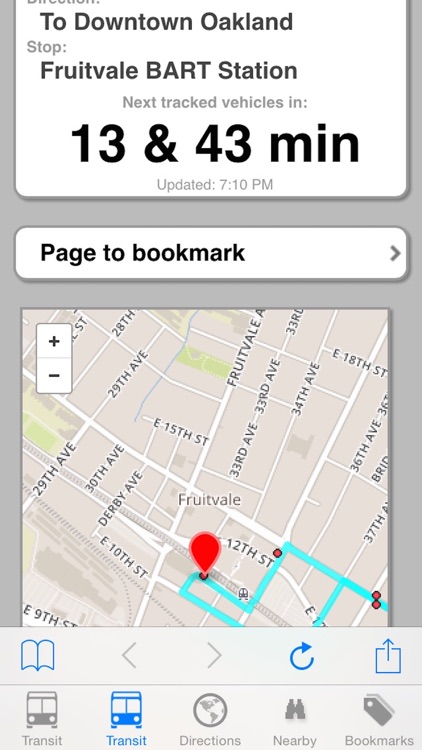 My AC Next Bus Real Time - Public Transit Search and Trip Planner Pro screenshot-3