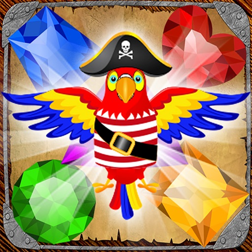 Pirate Drops - Match three puzzle