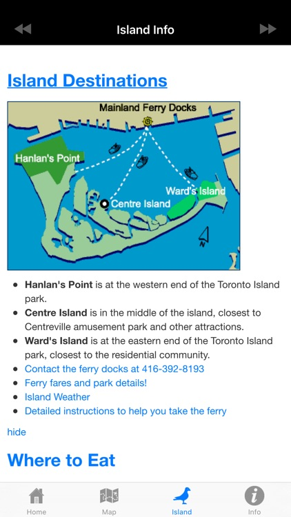 Toronto Island Ferry Finder screenshot-3
