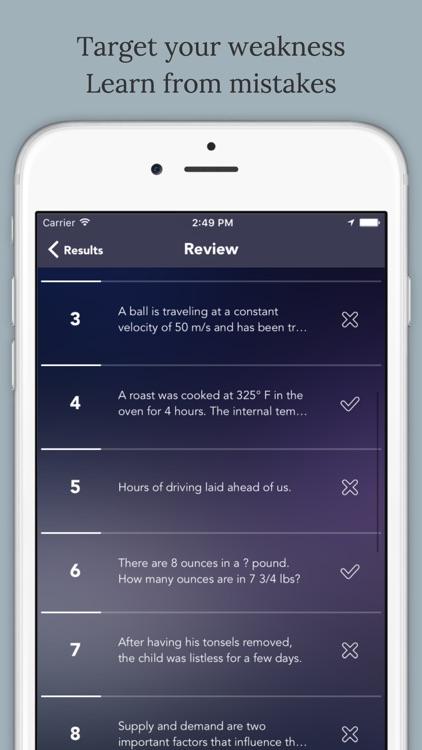 GED(General Educational Development) Test Prep screenshot-4