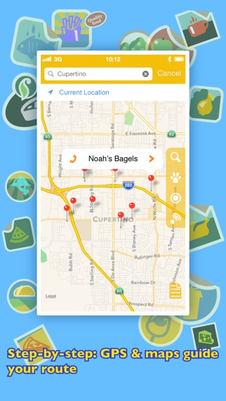 Screenshot for Where To Eat? PRO - Find restaurants using GPS. in Azerbaijan App Store