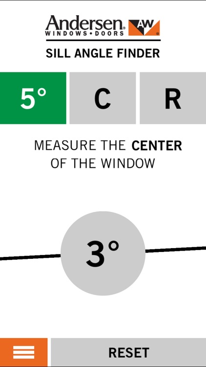 Angle Finder App >> Andersen Sill Angle Finder By Andersen Windows Inc