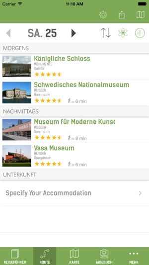 Stockholm Reiseführer (Offline Stadtplan) - mTrip Screenshot