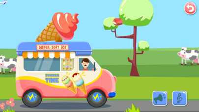 Ice Cream Truck -  Educational Puzzle Game for Kids screenshot four