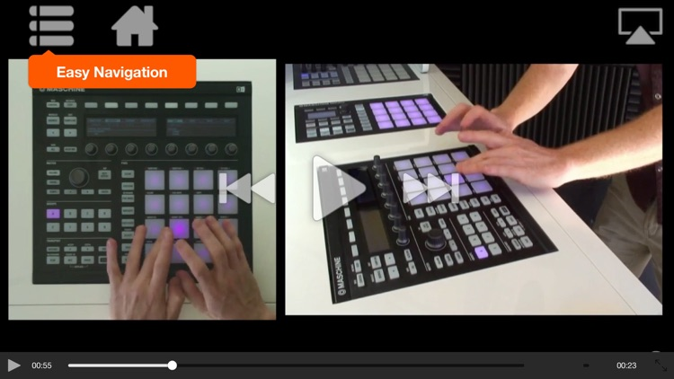 Finger Drumming with Maschine Virtuosity screenshot-3