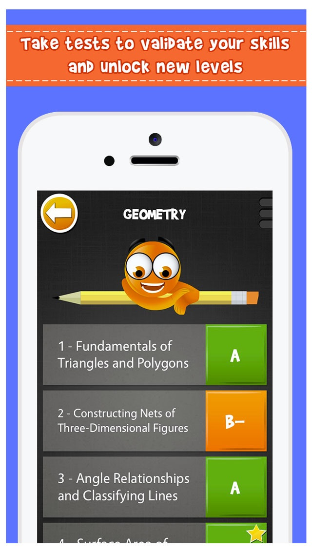 iTooch Middle School Screenshot on iOS