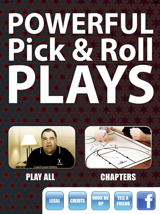 Powerful Pick & Roll Plays - With Coach Lason Perkins - Full Court Basketball Toolbox 13 Training Instruction XL