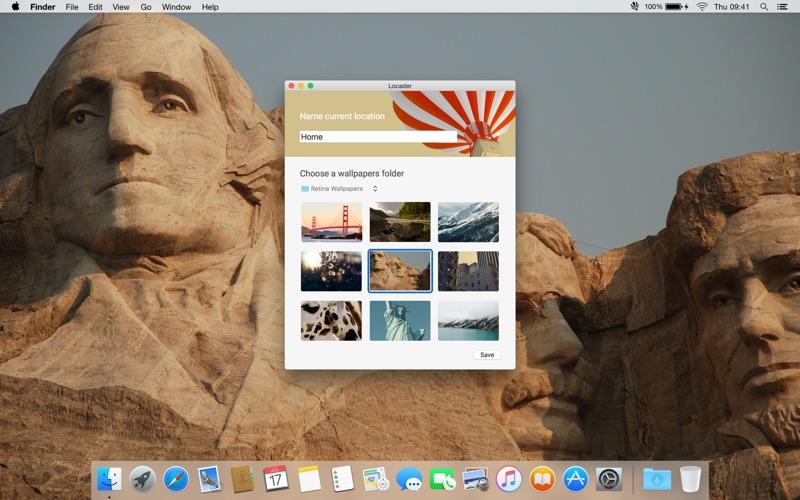 Screenshot #1 pour Locader – Changer le papier peint d'après leur emplacement