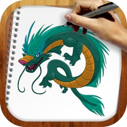 Easy To Draw : Beasts and Dragons