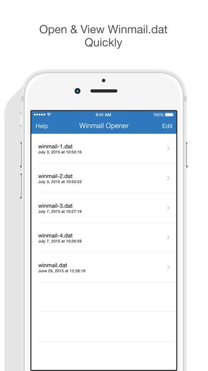 Winmail Opener screenshot-4