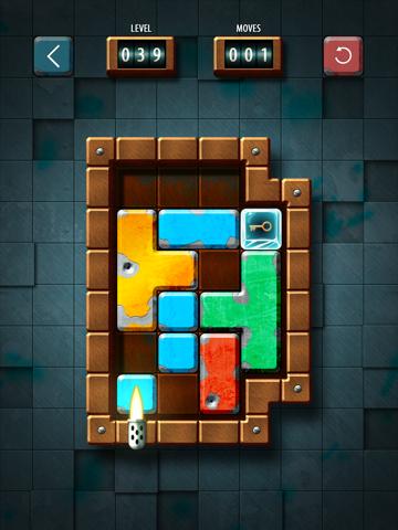 Slide Tetromonio: A slide puzzle game with Tetris-shaped pieces