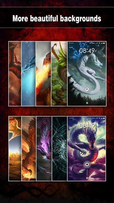 Dragon Wallpapers, Backgrounds & Themes - Home Screen Maker with Cool HD Dragon Pics for iOS 8 & iPhone 6のおすすめ画像3