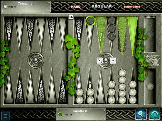 Backgammon Premium Скриншоты10