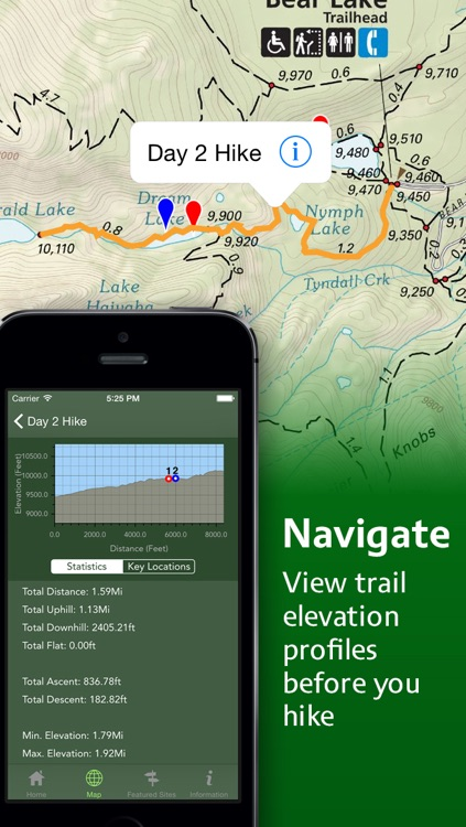 Equator Maps: Rocky Mountain National Park