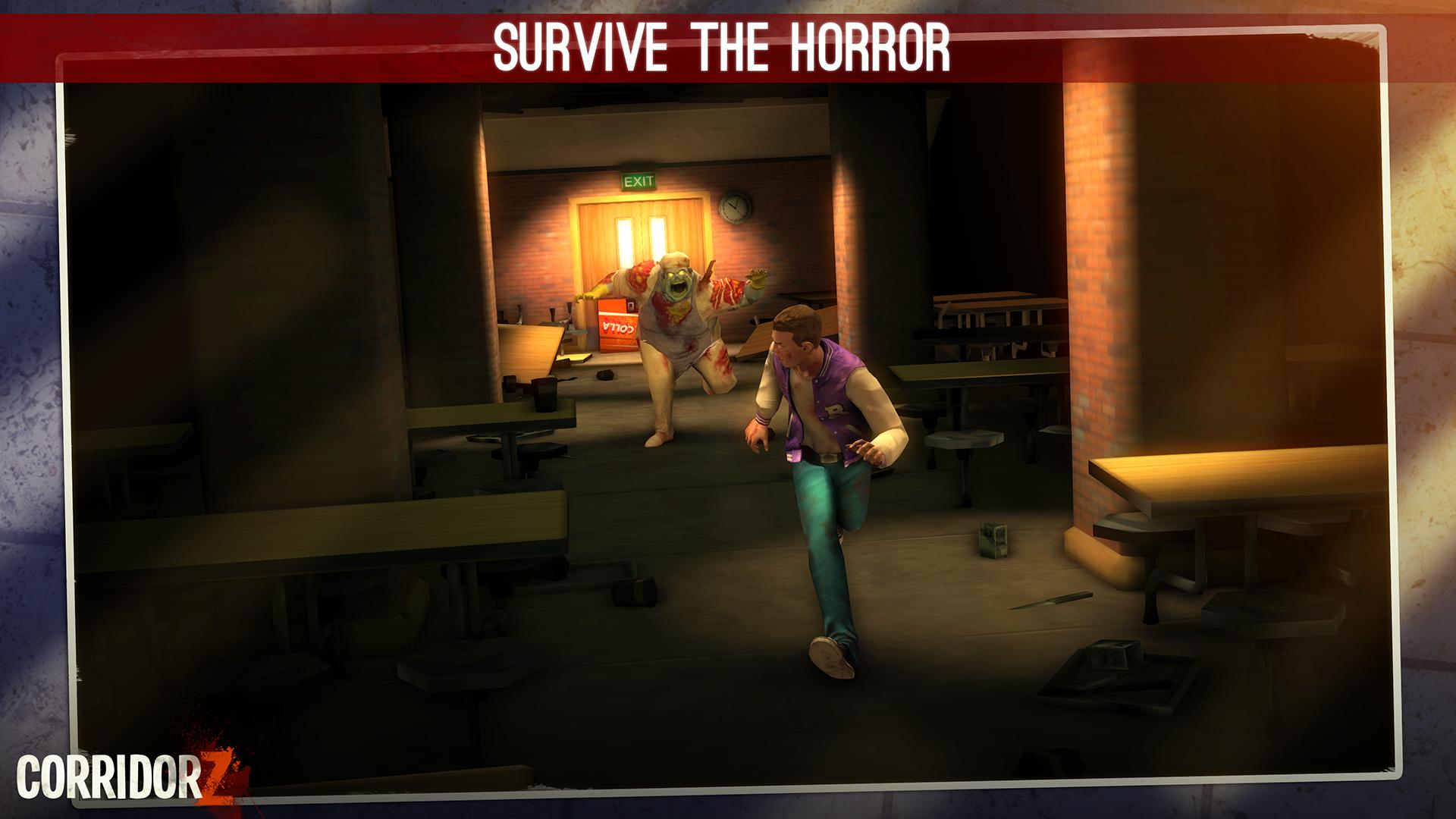 Corridor Z - Inverted Zombie Runner screenshot 19