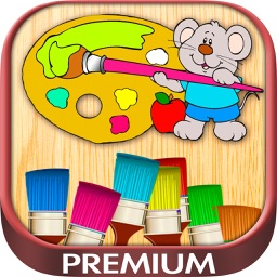 Color drawings - pictures coloring and painting - Premium