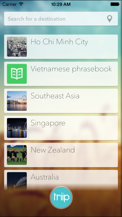 Wiki Triip - Worldwide offline travel guide screenshot