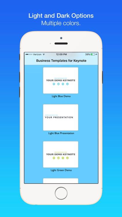 Business Templates for Keynote screenshot-3