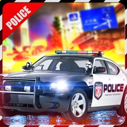 Police vs Sportscar Robbers 4-The Ultimate Crime Town Chase to Hunt Down Criminals
