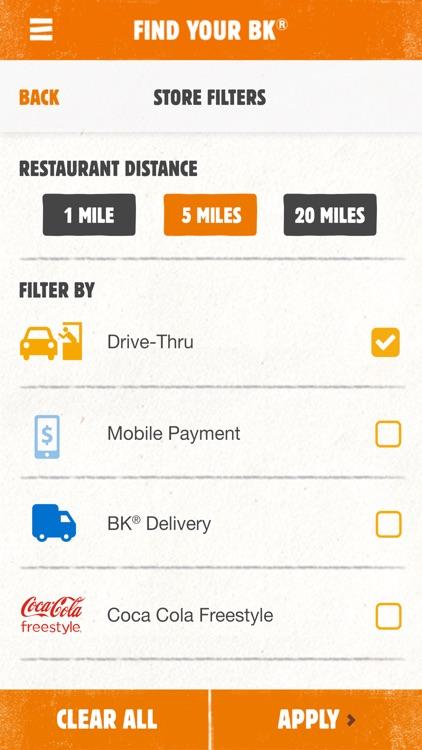 BURGER KING® App screenshot-4