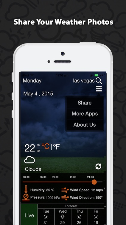 Weather Glow – Accurate 5 Day Weather Forecasts with Live Weather Updates & Hourly Report screenshot-3