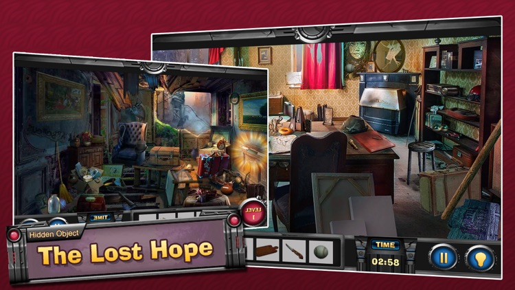 The Lost Hope : Best Hidden Objects Game screenshot-4