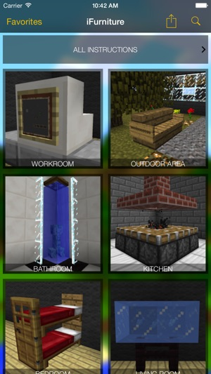 Ifunriture Mobel Minecraft Architektur Im App Store