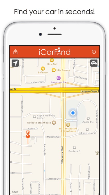 iCarFind Lite - Save & Find your parking spot