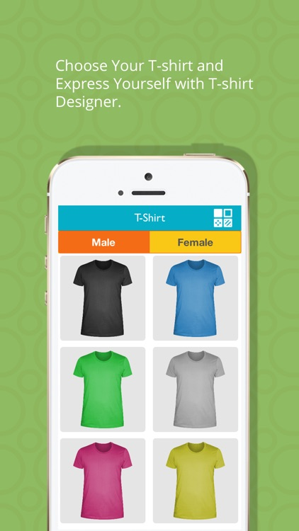 T-Shirt Designer Tool App screenshot-0