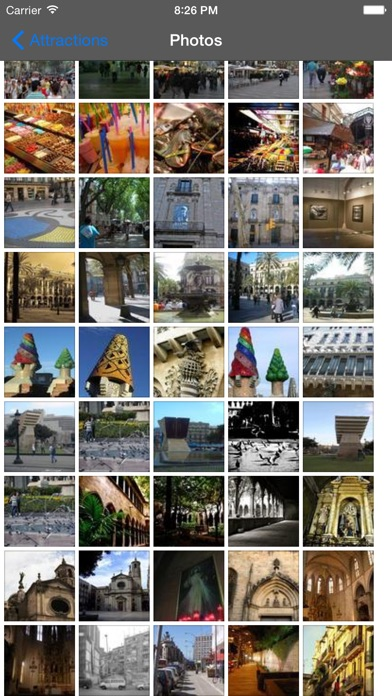 Screenshot for Barcelona Travel Guide Offline in Belgium App Store