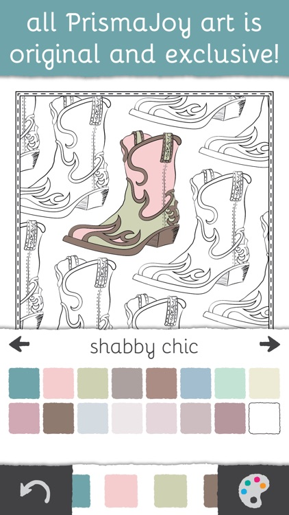 PrismaJoy Coloring Book for Adults - Art Therapy screenshot-4