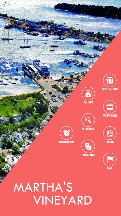 Martha's Vineyard Offline Travel Guide screenshot-1