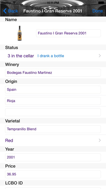 Wine Cellar screenshot-1