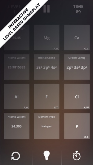 Periodic table game on the app store periodic table game on the app store urtaz Image collections