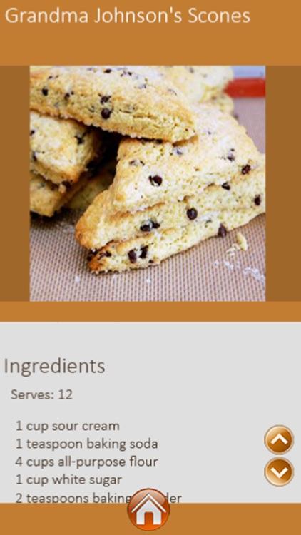 Scones Recipes screenshot-3