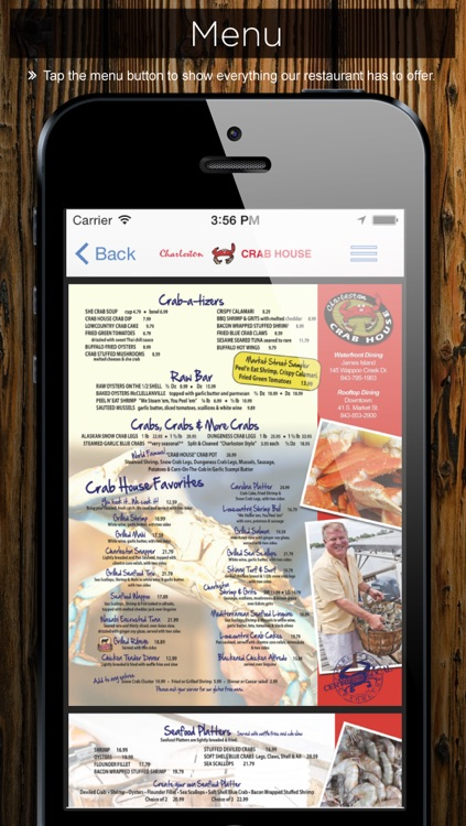 Charleston Crab House screenshot-4
