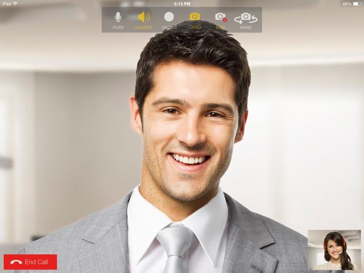 Bria Stretto™ for BlackBerry iPad Edition screenshot-3