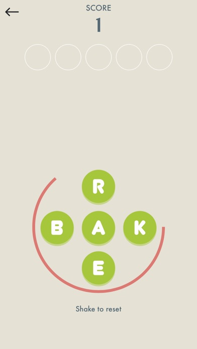 Five Letters - Word Game screenshot two