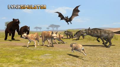 Lynx Survival Simulator screenshot one