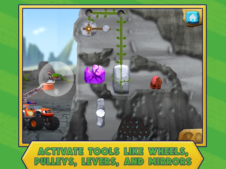 Blaze: Dinosaur Rescue HD screenshot-3