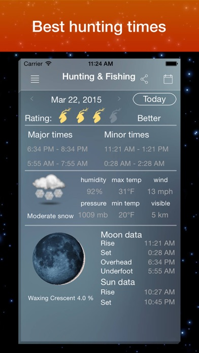 Moon Phase Calendar . screenshot three