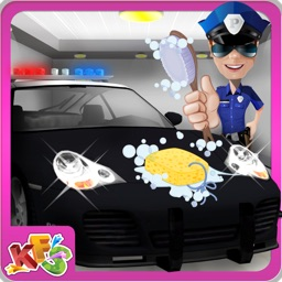 Police Car Wash – Cleanup messy vehicle in this auto cleaning game
