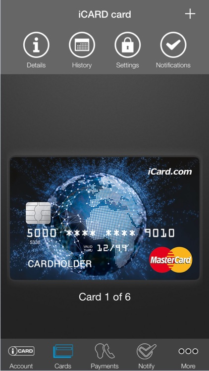 iCARD Mobile screenshot-0