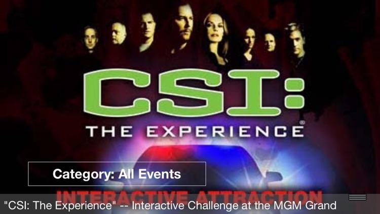50% Off Las Vegas Strip & Downtown City Events, Shows & Sports Guide Plus by Wonderiffic ® screenshot-3