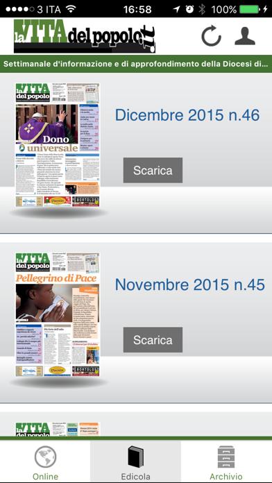La Vita del Popolo screenshot three
