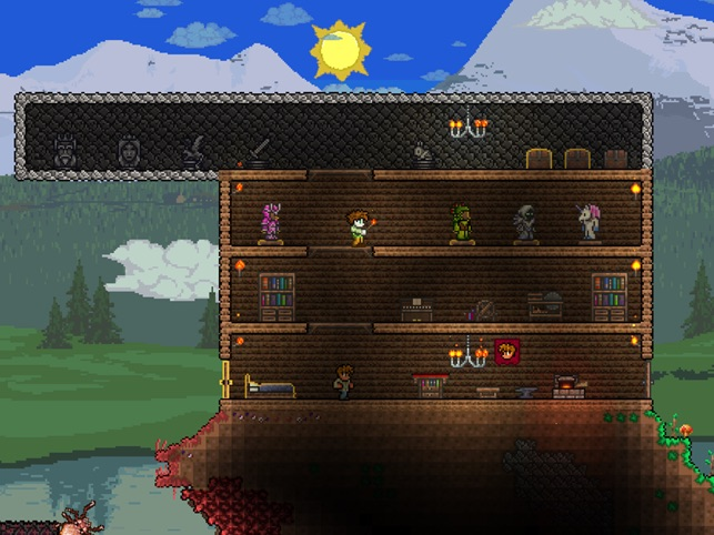 Terraria On The App Store - Minecraft 2d spielen ohne download