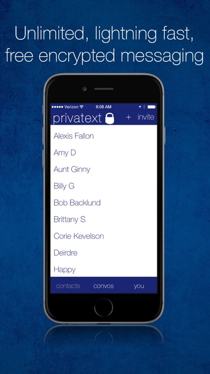 Privatext - Private Text Messaging screenshot-2